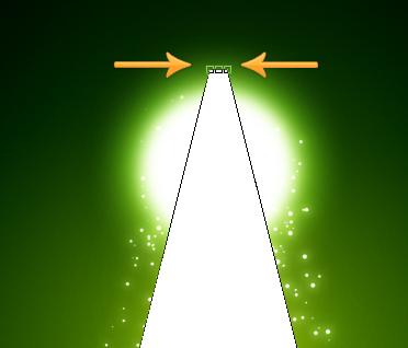 effet de lumière avec photoshop