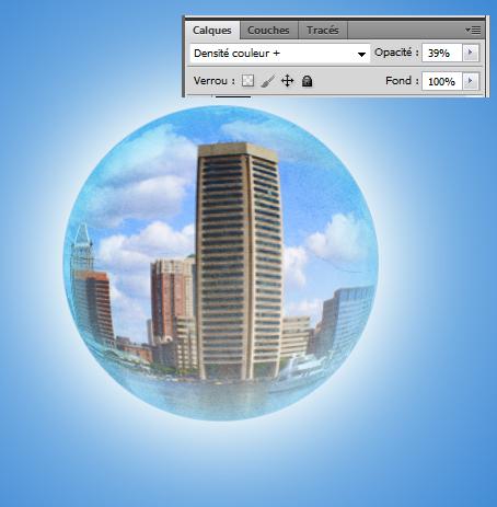 Créer un montage avec un effet de boule de crystal