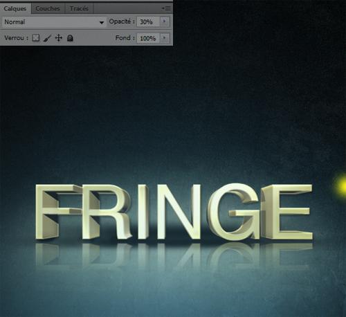créer l'affiche de la série télé FRINGE avec photoshop cs5