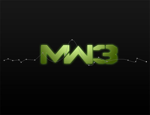 Créer le logo de Call Of duty Modern Warfare 3 avec Photoshop