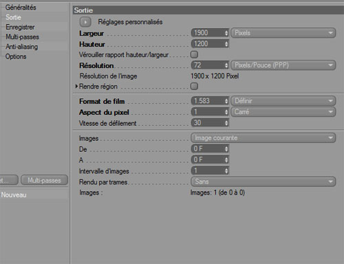 Créer un effect abstrait avec cinema 4D et photoshop