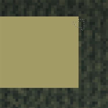 créer un bout de papier déchiré avec du ruban adhésif