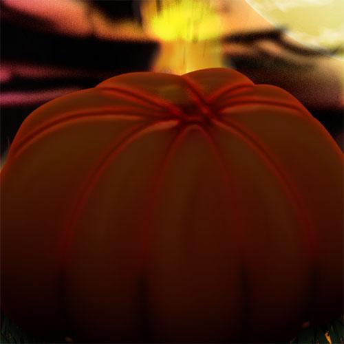 Créer un design pour Halloween avec Photoshop, les citrouilles de l'enfer