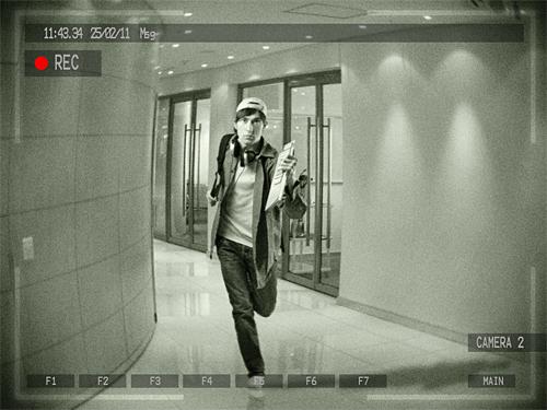 Créer un effet d'une camera de surveillance avec Photoshop