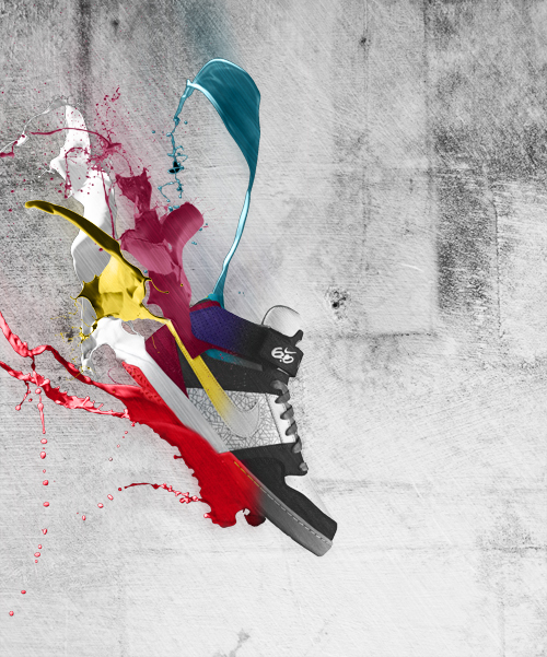 Créer un effet de décolorisation d'un soulier avec Photoshop