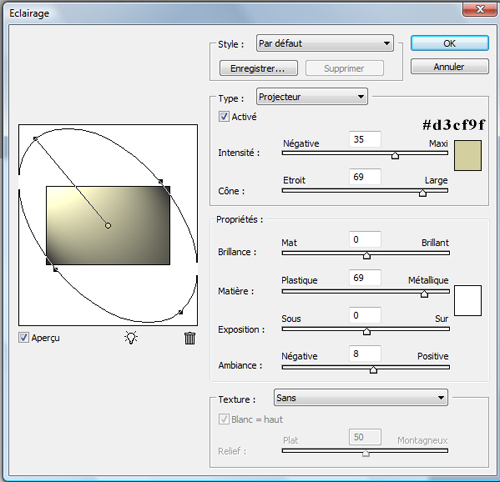 Créer un effet de texte 3D texturé