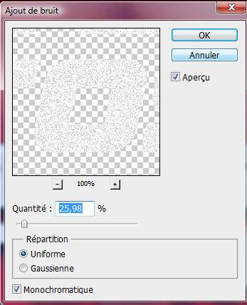 Effet métalliques sur texte avec photoshop