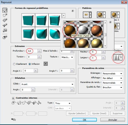 Créer un mur de lumière avec Photoshop Cs5