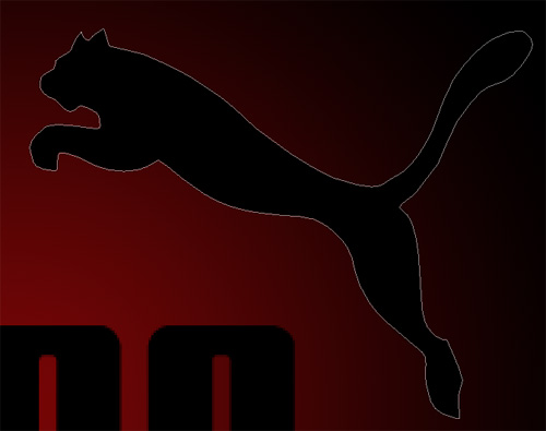 Tutoriels photoshop poster Puma avec des effet de feu
