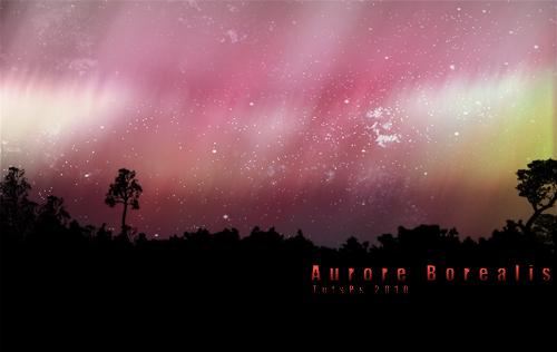 Créer un auror borealis avec photoshop