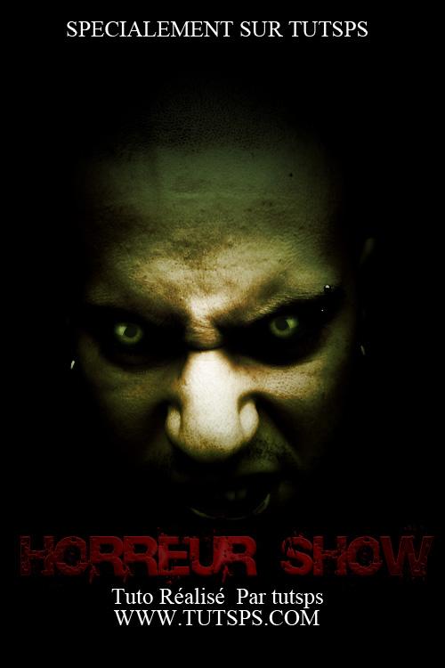 Créer une affiche pour un film d'horreur