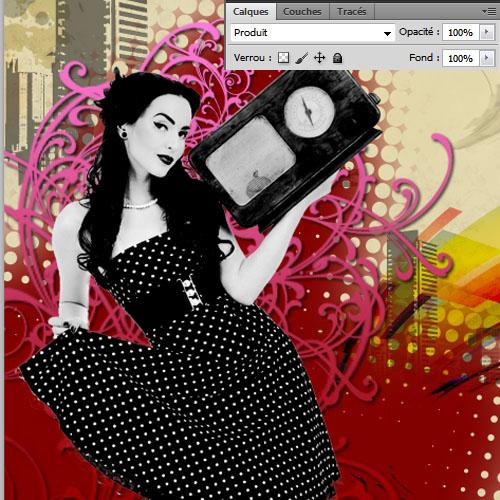 Créer une affiche retro vintage avec Photoshop