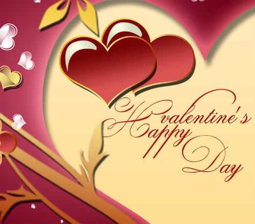 Cr er une carte pour la saint valentin avec photoshop - Carte pour la saint valentin a fabriquer ...