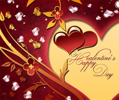 Computer tutorial create a card for valentine 39 s day with - Carte pour la saint valentin a fabriquer ...