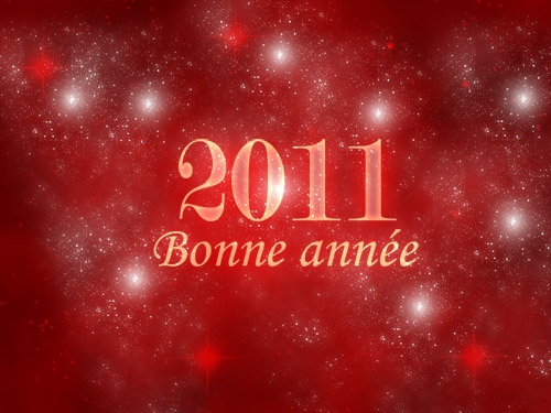 Créer vos cartes pour la fin d'année 2010