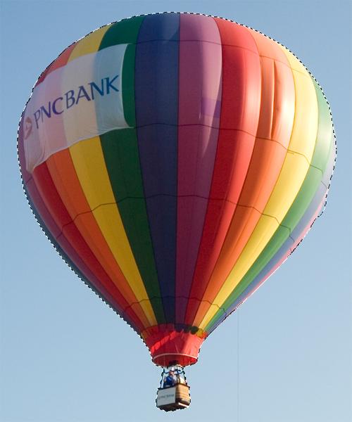 Des montgolfières volantes avec Photoshop Cs5
