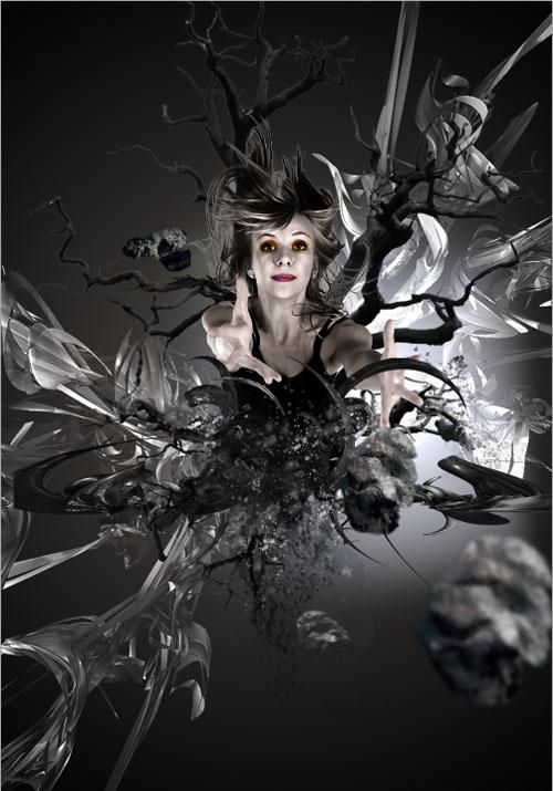 Design Surnaturel avec Photoshop