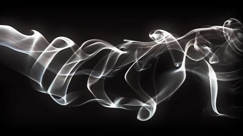 Effet de Fumé avec de la typo sous photoshop