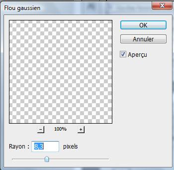 Effet de dispersion avec Photoshop