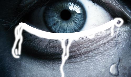 effet de larme