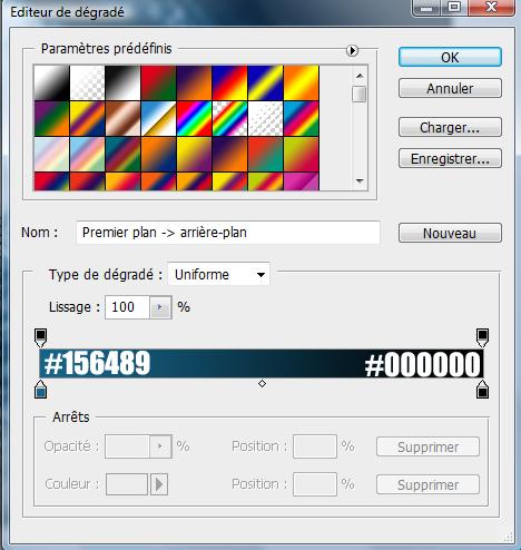 Effet magique sur composition colorée