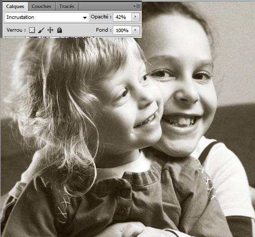 En faisant de la Retouche Photo vieillir une image avec Photoshop