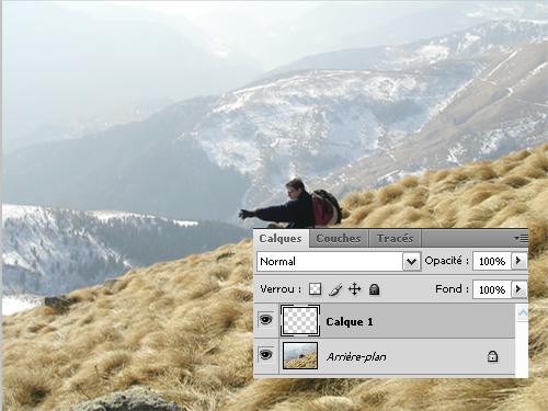 Tutoriaux photoshop Filtre de densité graduelle