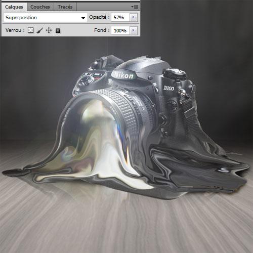 Fondre un objet avec Photoshop