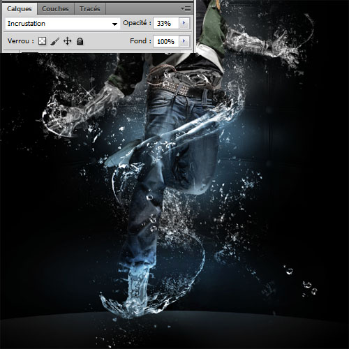 L'homme liquide avec Photoshop