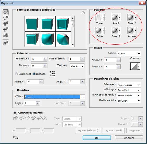 La 3D avec photoshop cs5