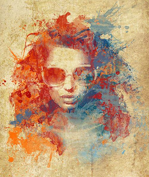 La peinture aquarelle avec photoshop cc tuto photoshop les meilleurs tutori - Photo effet peinture ...