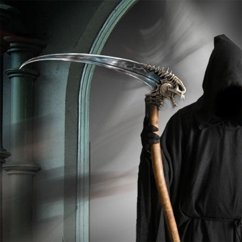 Montage photo La mort vient vous prendre une scène horrifique avec Photoshop