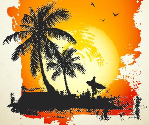 le Paradis Tropical avec photoshop