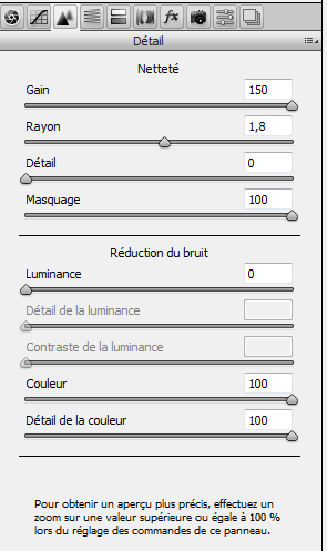 Les Photos et Camera Raw de Photoshop