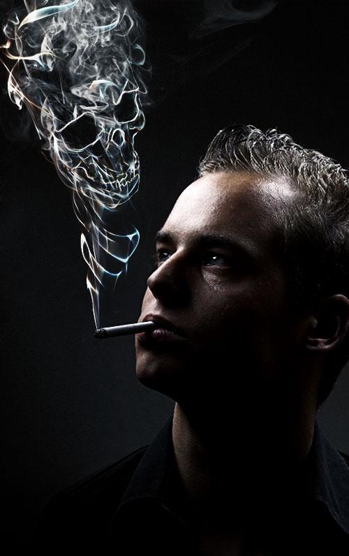 Montage photo Manipuler la fumée pour obtenir des images surréalistes