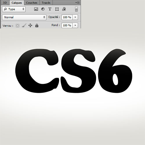 Pelage léopard sur texte 3D avec Photoshop Cs6 - درس