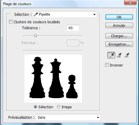 Photomontage Chess Master avec Photoshop