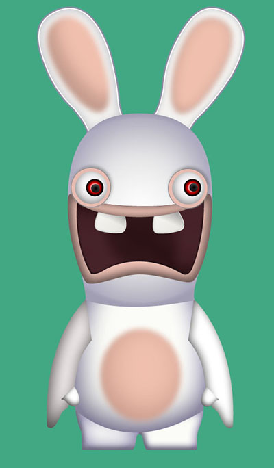 Dessiner un lapin cr tin avec photoshop et illustrator - Lapin a dessiner ...