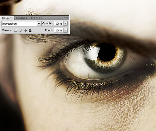 Tutorial photoshop cs4 devil's eyes avec photoshop cs4