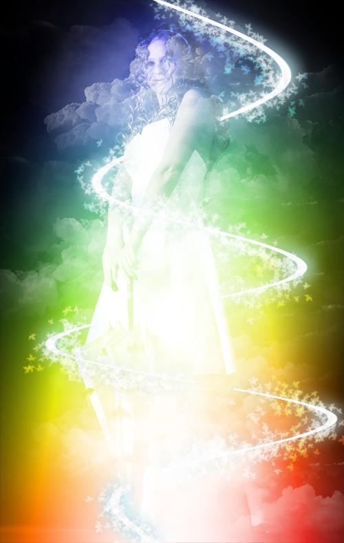 Tuto photoshop créer un effet abstrait de couleur