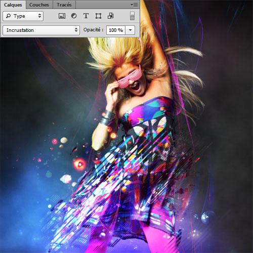 Tuto sur les effets de lumière avec photoshop