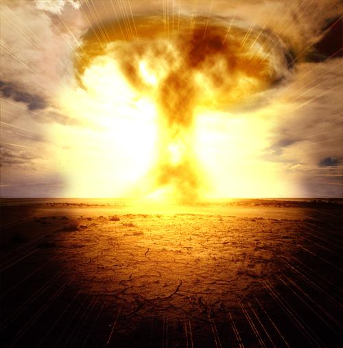 Tutoriel photoshop Créer une super explosion nucléaire avec photoshop cs4 et cs3