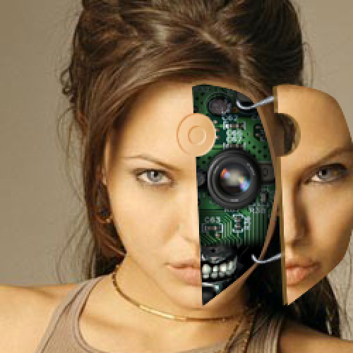 Tutoriel transfomer angelina joli en cyborg avec photoshop cs4