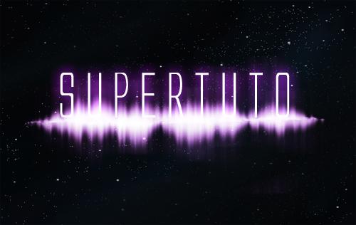 Un effet de Spectre harmonique avec Photoshop