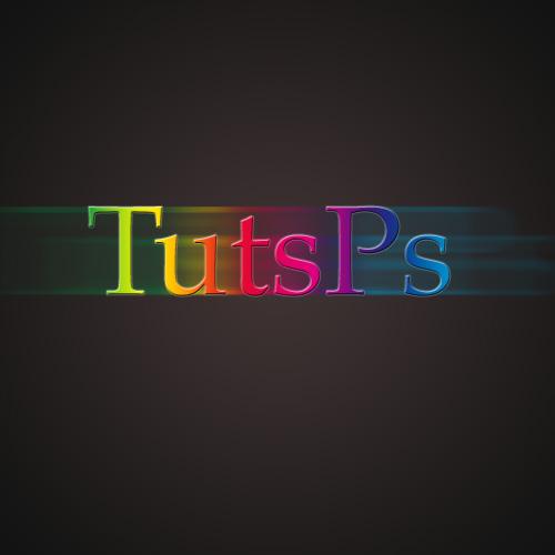 effet de glow sur texte avec des super particule lumineuse