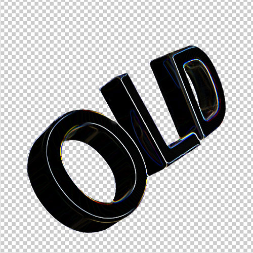Tuto cinema 4D et photoshop cs5 pour créer un effet de texte 3D avec des trainées lumineuse