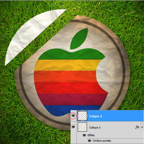 Tuto photoshop Une affiche Apple Fun avec Photoshop