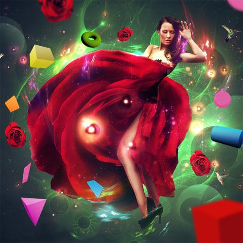 Photoshop tutorials Une fabuleuse composition colorée avec Photoshop