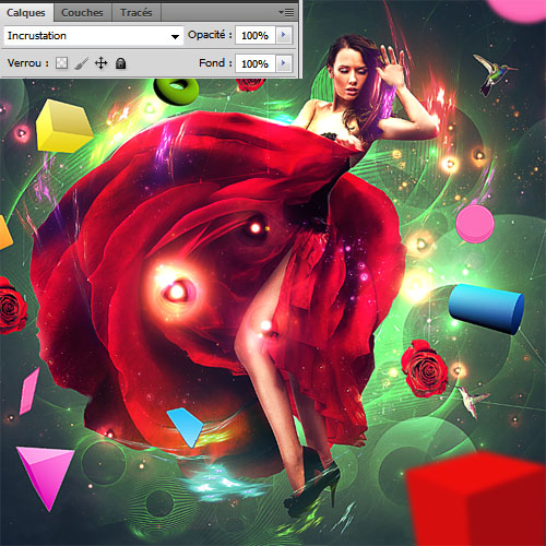 Photoshop tutorials Une fabuleuse composition colorée avec Photoshop