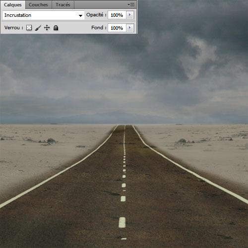 tuto débutant photoshop Une route onirique avec Photoshop